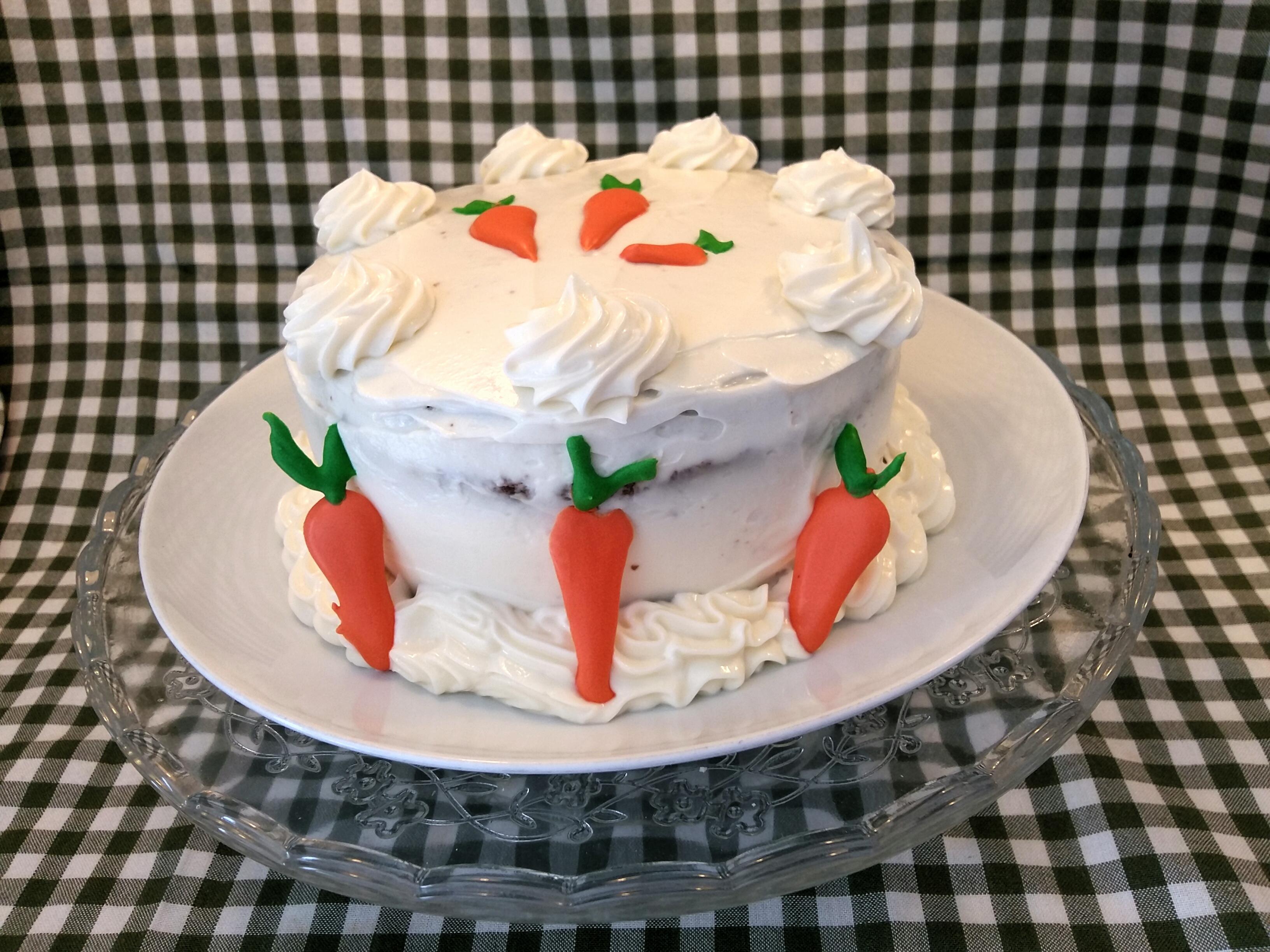 CARROT CAKE con crema de queso
